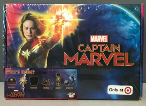 Culturefly Capitaine Marvel Collectors Box Target Exclusive