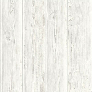 Image Is Loading Rustic Wood Faux Textured Plank Panel White Vinyl
