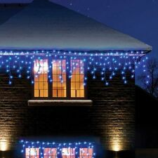 Snowtime led multi function icicle christmas lights 180 bulb blue 300 led multi function indoor outdoor christmas lights icicle tree decoration aloadofball Image collections