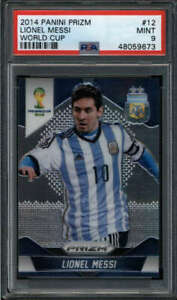 LIONEL MESSI 2014 PANINI PRIZM WORLD CUP #12 PSA 9 MINT (TEAM ARGENTINA) FC6768