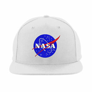 Image is loading Nasa-Snapback-International-Space-Station-Hat -Embroidered-Design a898ee2c8d5
