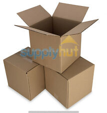 25 4x4x4 Cardboard Paper Boxes Mailing Packing Shipping Box Corrugated Carton