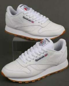 8e7e46d3a446ab Reebok - Classic Leather Trainers in White   Gum - Reebok Classics ...