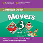 Cambridge Young Learners English Tests Movers 3 Audio CD: Examination Papers from the University of Cambridge ESOL Examinations by Cambridge ESOL (CD-Audio, 2007)