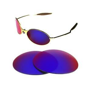 New Polarized Custom Light Red Lens For Oakley E Wire 1 0