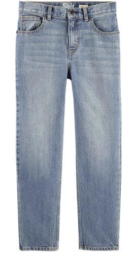 OshKosh  B/'Gosh Boys/' Jeans Straight Fit Size 3T Natural Indigo Adjust Waist NWT