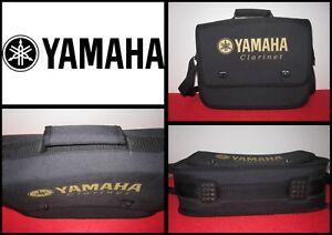 MotivéE Yamaha Clarinet Borsa Clarinetto Spartito Accessori Soft Bag Case Shoulder Strap Rendre Les Choses Pratiques Pour Les Clients