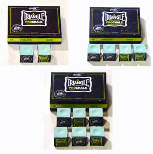 TRIANGLE-LIGHT-GREEN-PRO-CHALK-FOR-THE-SERIOUS-PLAYER-IN-VARIOUS-QUANTITIES