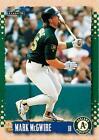 1995 Score Mark Mcgwire #377 Baseball Card