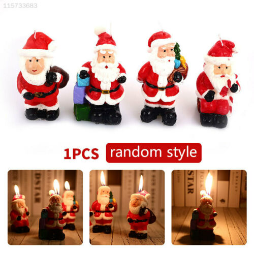 3E96 Paraffin Candles Beautiful Gift Xmas Bougie Kitchen Decor Home Decorations