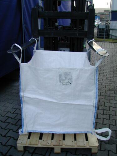 5 Big-Bags,91X91X90 cm,Steine,Bauschutt,Splitt,+2 Bodenschlaufen SWL 1500 kg