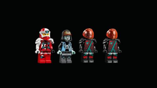LEGO NINJAGO NINJA 71710-TUNING-veicolo Digi Kai e Scott n2//20
