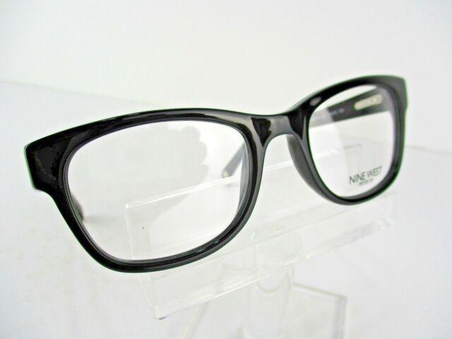 c7169dfc1a Nine West NW 5112 (001) Black 48 x 18 PETITE FIT Eyeglass Frames