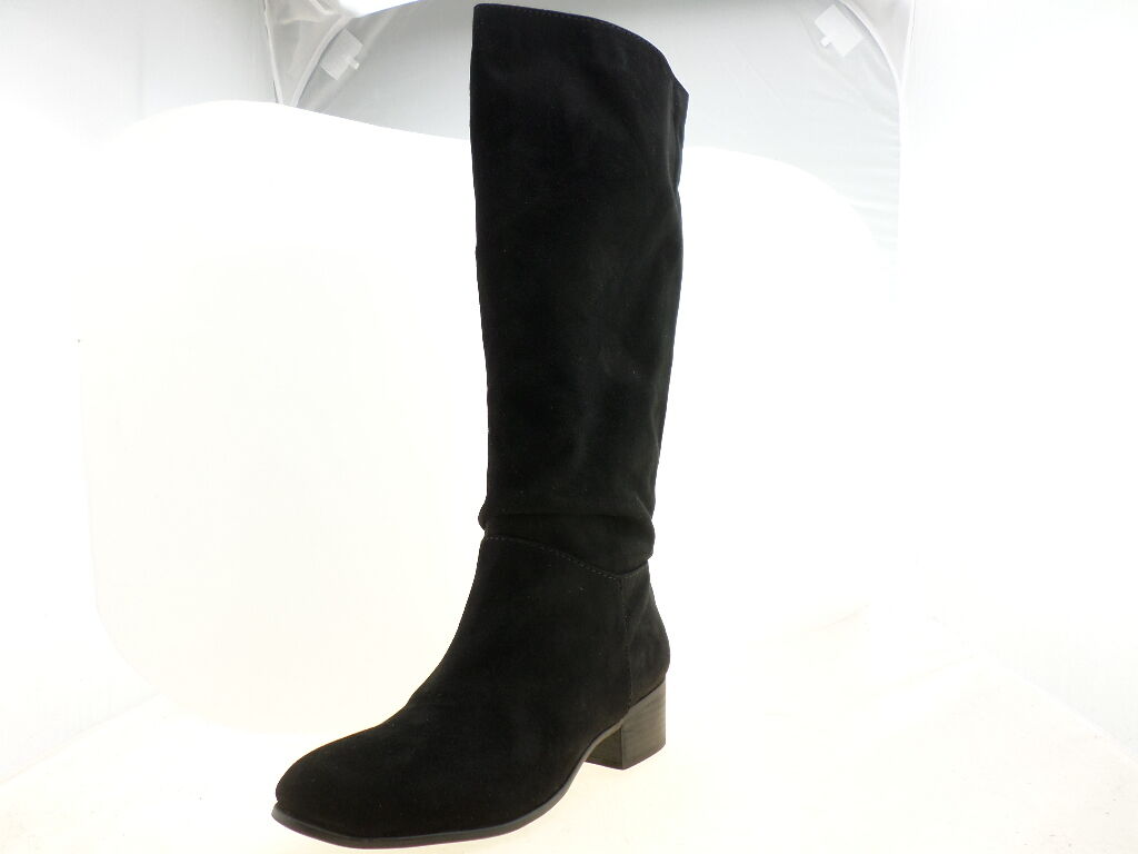 Madden Girl Persiss Womens Black Knee High Boot Black Size 6.5M