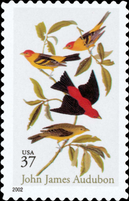 2002 37c John James Audubon, Botanist Scott 3650 Mint F