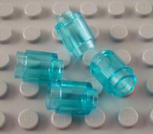 Lego 1x1 Round Brick Transparent Light Blue Lot of 20 New