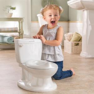 Enthousiaste Summer Infant Ma Taille Pot Toilette Entraînement Siège Chasse Sonore Pour Bébé-blanc-afficher Le Titre D'origine