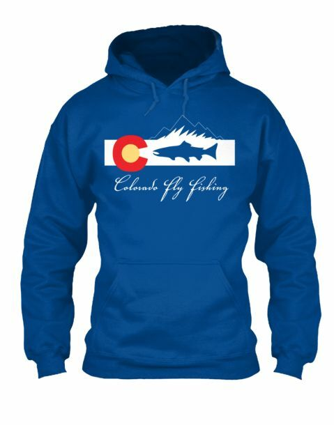 Classic colorado Fly Fishing Hoodie