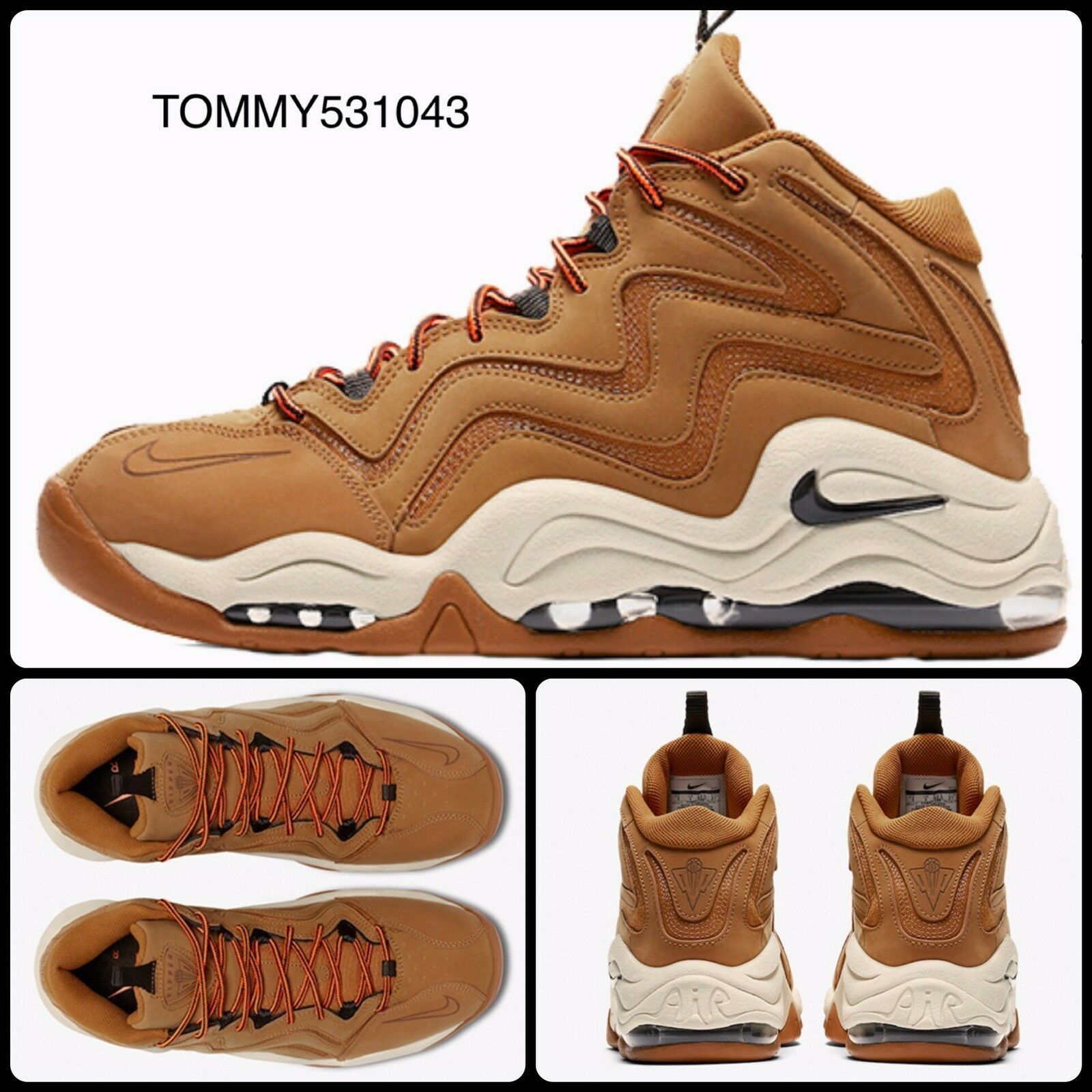 "Nike Air Pippen 1 ""Desert Ochre"" UK 9.5 EU 44.5 US10.5 325001-700 Uptempo Scotti"