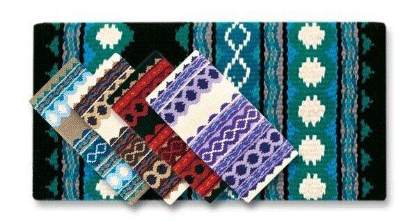 Mayatex Riverland Navajo Saddle Blanket 36x34