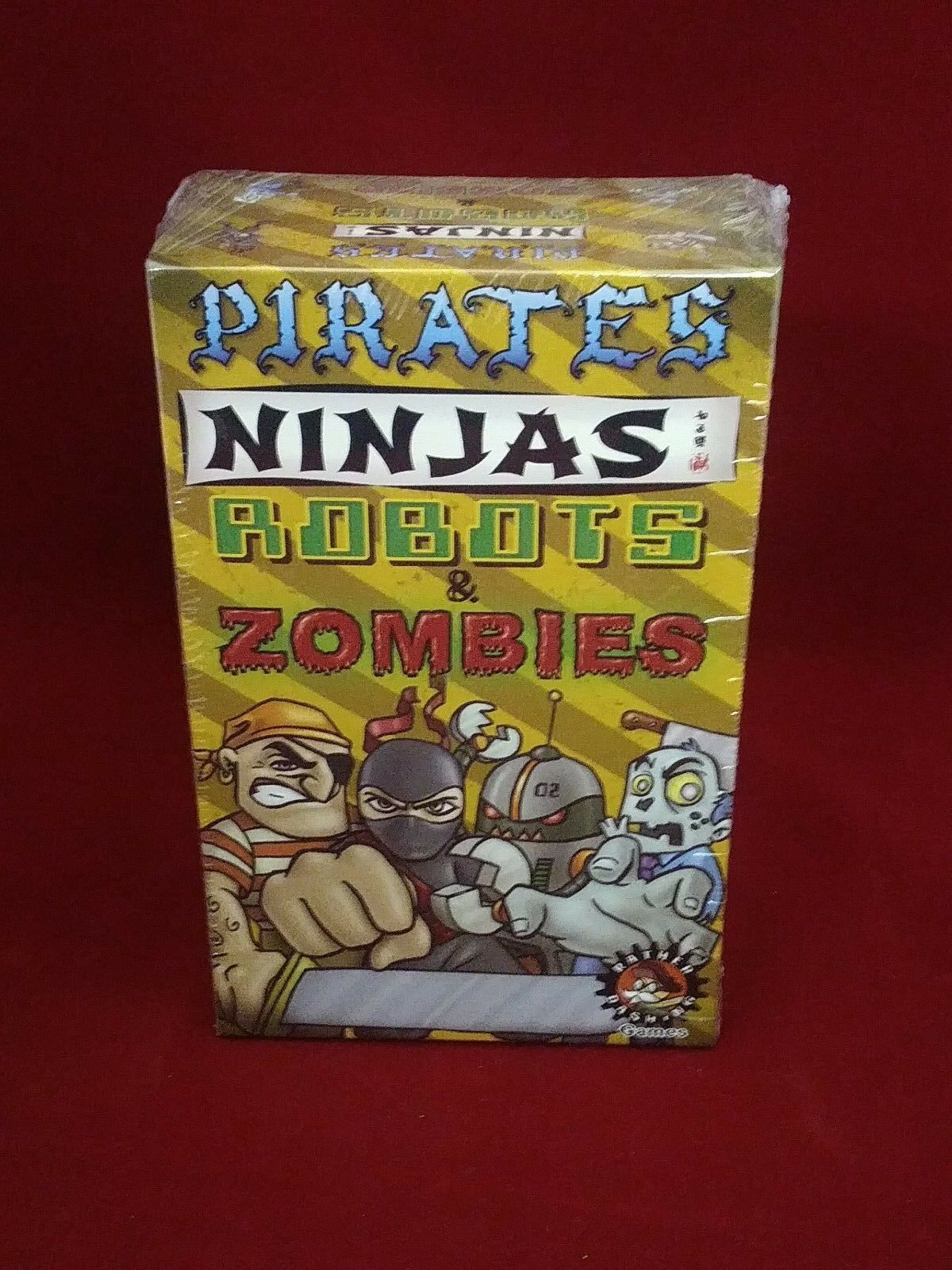 Pirates Ninjas Robots & Zombies Tactical Tile Game Rather Dashing Games NEW