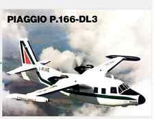 AIRCRAFT AERONAUTICA Piaggio P166DL3 1980 (eng) Brochure - DVD