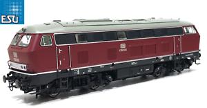ESU-h0-AC-DC-31000-Locomotive-BR-216-v160-130-de-la-DB-034-Sound-VAPEUR-034-NEUF-neuf-dans-sa-boite