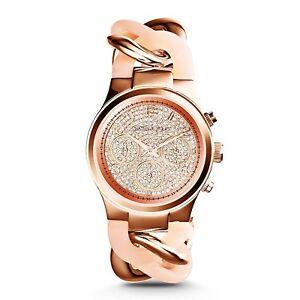 ba7843c3e5f6 Michael Kors Runway twist MK4283 Wrist Watch for Women for sale ...