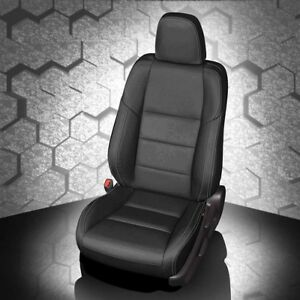 Katzkin Black Replacement Leather Int Seat Covers Fits