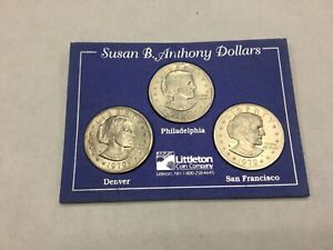 1979 Susan B Anthony First Year All Mint Set