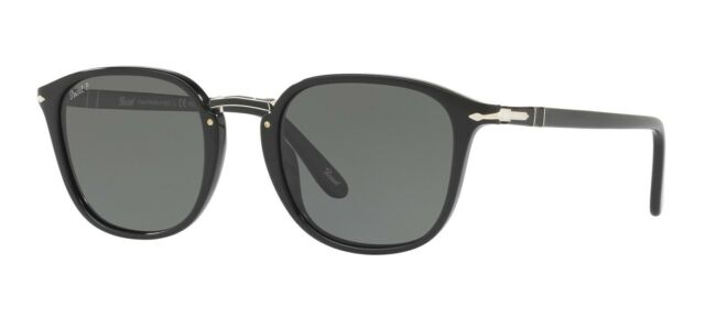 2a00e3a051f Persol 3186s Sunglasses 95 58 Black 100 Authentic for sale online