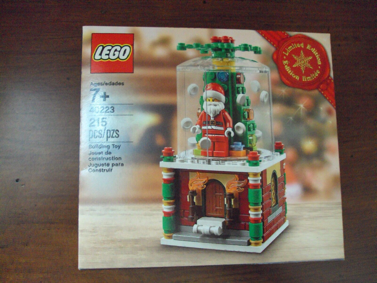 Lego Christmas Promo ~ Santa Snowglobe 40223 ~ Nuovo Sealed Set MIB 2016 Limited