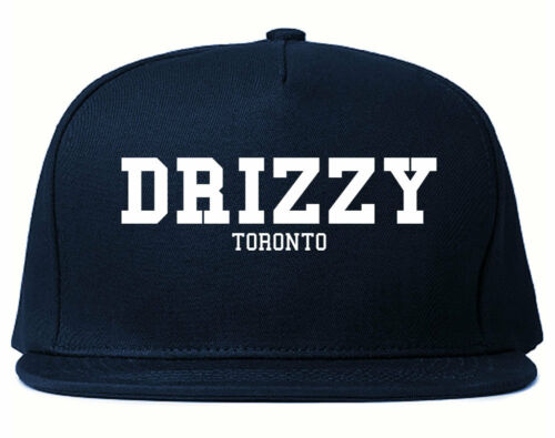 Kings of NY Drizzy Toronto Canada Hiphop Black Grey Red Printed Snapback Street