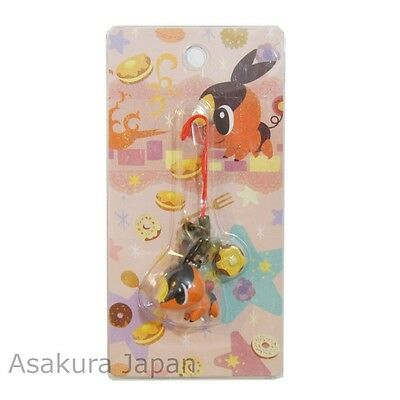 Pokemon Center Limited 2012 Figure Strap Tepig from Japan