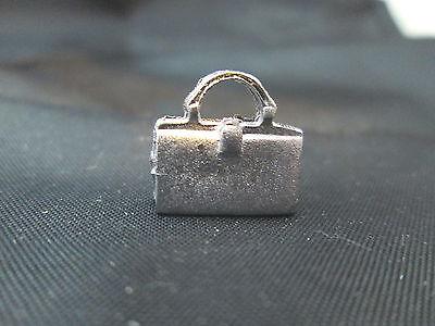 Dollhouse Miniature Unfinished metal Purse #1
