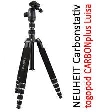 Stativ Fotostativ togopod Luisa CARBONplus - Kopf 5kg, Packmaß 35cm, Höhe 160cm
