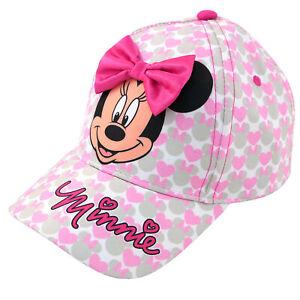 Disney-Minnie-Mouse-Bowtique-Gorra-de-beisbol-Toddler-Girls-edad-2-4