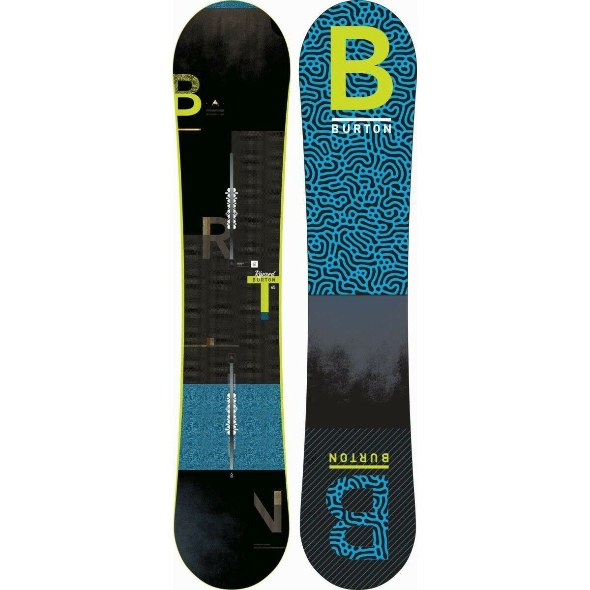 Burton Ripcord Snowboard Set mit Bindung Freestyle
