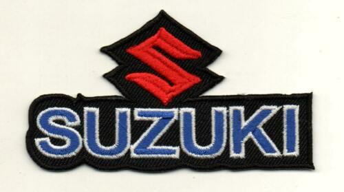 For Suzuki Motor Sport Racing P657 Embroidered Iron on Patch High Quality Jacket