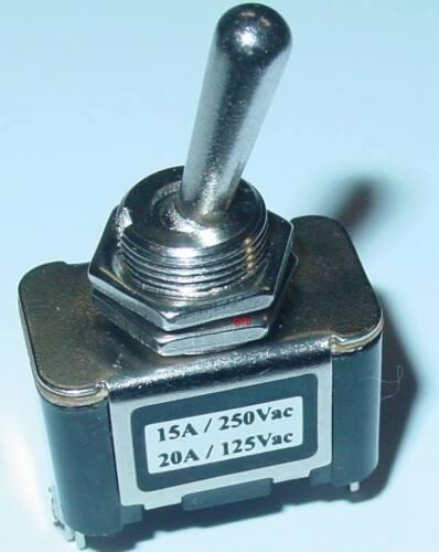 s31 CHROME LEVIER 250v//15a Bascule massivement top qualité on//off