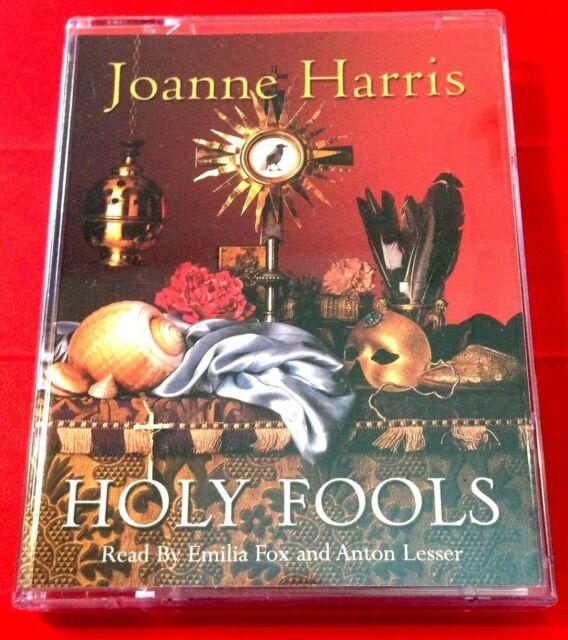 Joanne Harris Holy Fools 2-Tape Audio Emilia Fox/Anton Lesser History/France
