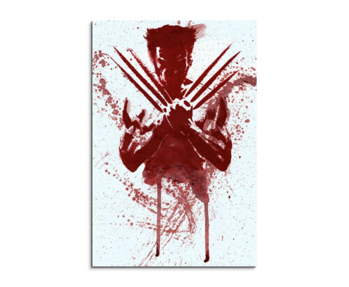 90x60cm PAUL SINUS Splash Art Gemälde Kunstbild The/_Wolverine