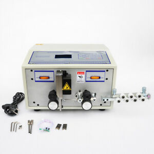 Computer Wire Peeling Stripping Cutting Machine Electrical 4 Wheels 10000mm