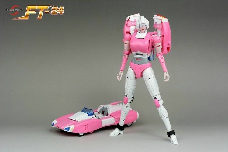 Fanstoys FT-24 red Arcee FT24 FT 24 Transformation Action Figure