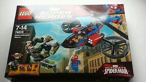 LEGO set 76016 Spider-helicop<wbr/>ter Rescue MARVEL Super Heroes Ultimate Spider-man