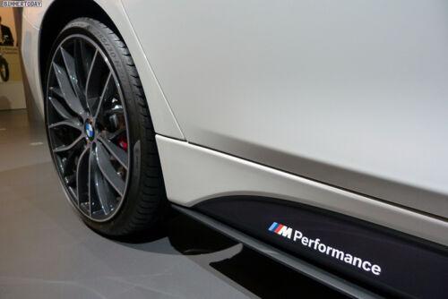 Fits BMW F30 F31 3 Series M Performance Side Skirt Decal Stickers GLOSS BLACK