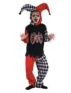Blutender Harlekin Kostüm für Jungen Cod.239838
