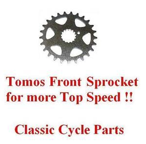 Tomos-Front-Speed-Sprocket-27-Teeth-A55-A-55-Targa-LX-Sprint-ST-Revival