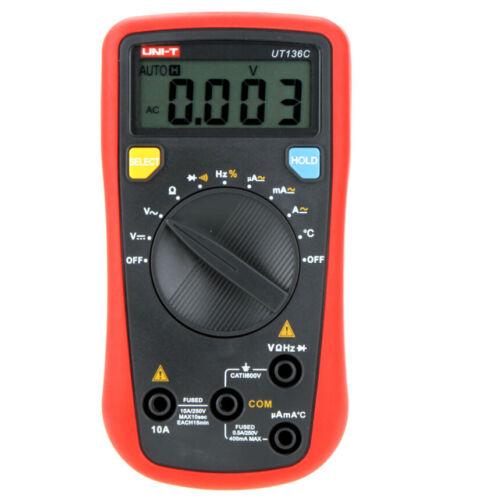 Display 3999 UT-136C UT136C Handheld Auto-ranging Digital Multimeters Max
