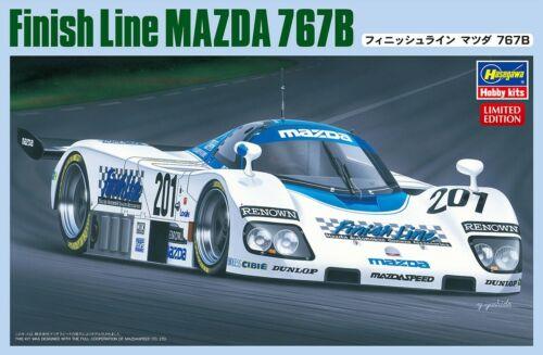 HASEGAWA CC-20 Finish Line Mazda 767 B 1//24